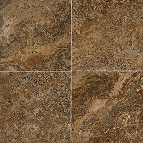 Mannington Hardware AT222 Adura Luxury Corsica Vinyl Tile Flooring, Cavern by Mannington
