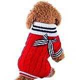 RETUROM Ropa para Mascotas, Precioso Lindo suéter de Invierno Ropa para Perros pequeños…