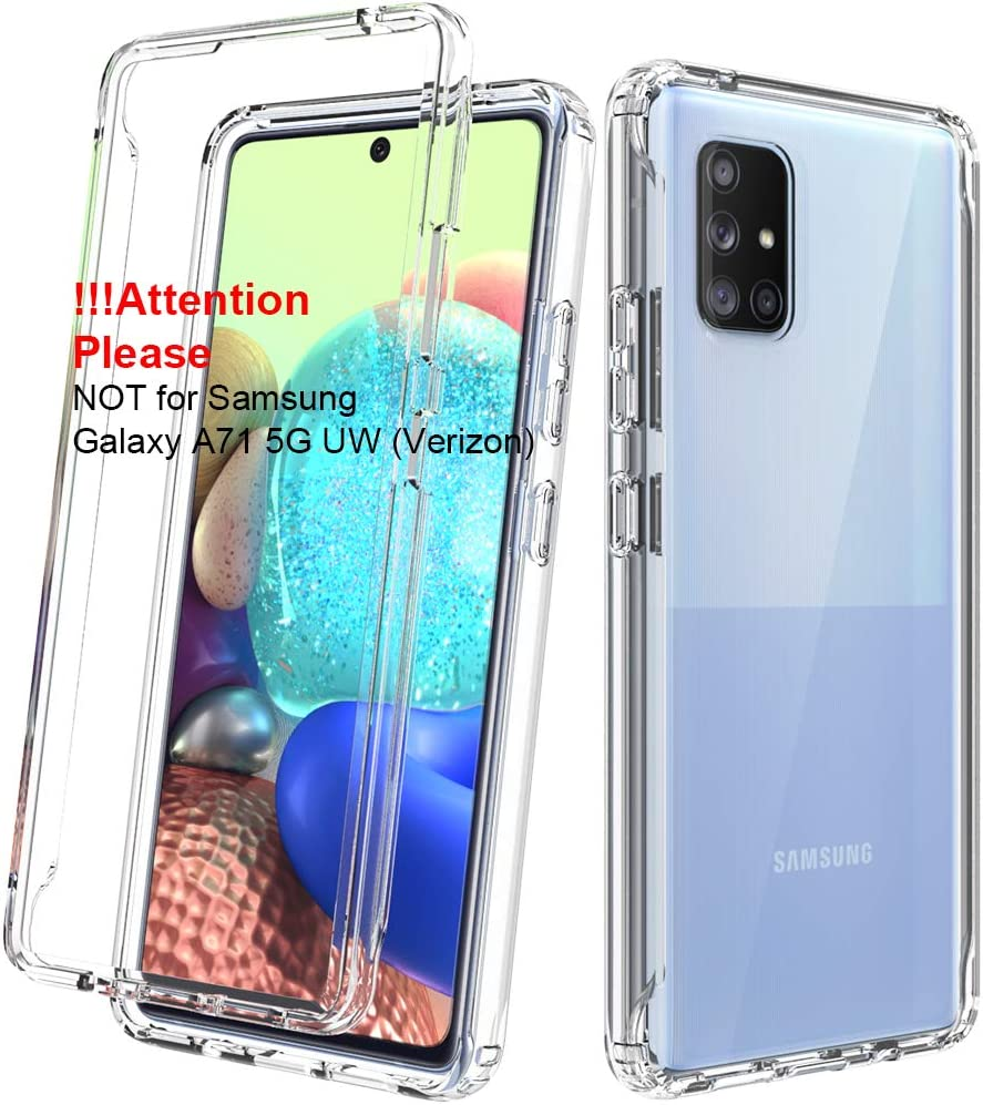 Amazon Com Dahkoiz Case For Samsung Galaxy A71 5g Case Not For A71 5g Uw From Verizon See Through Clear Crystal Tpu Bumper Cover Slim Shockproof Protective Phone Case For Samsung Galaxy A71 5g