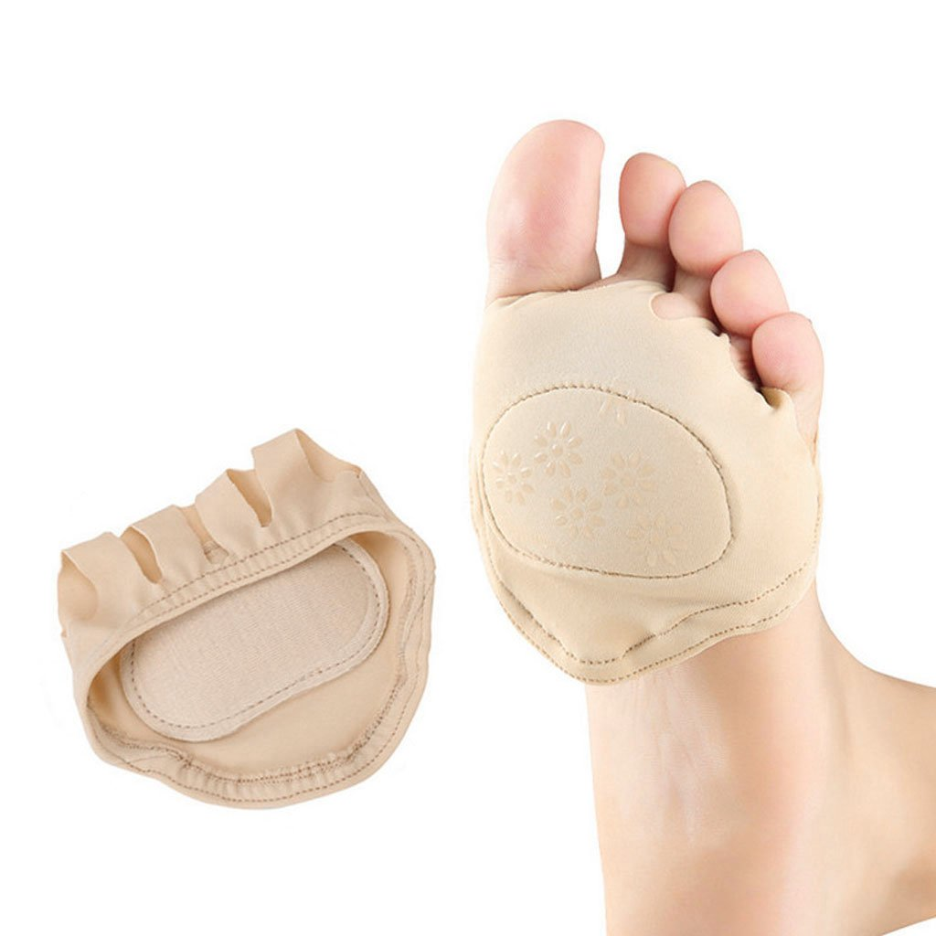 1 Pair Ball Of Foot Pain Relief Pads Cushion Forefoot Metatarsal Morton's Neuroma