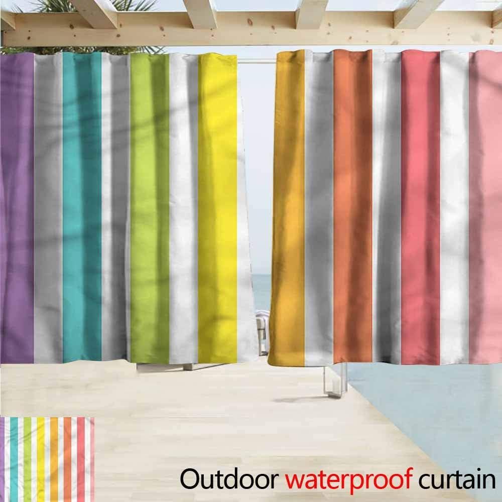 Beihai1Sun Cortina para Puerta corredera, diseño Moderno de arcoíris: Amazon.es: Jardín