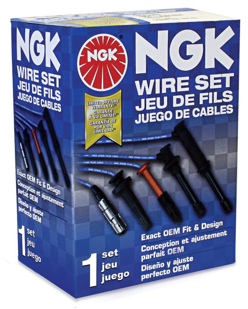 NGK RC-FDZ044 Spark Plug Wire Set 52104