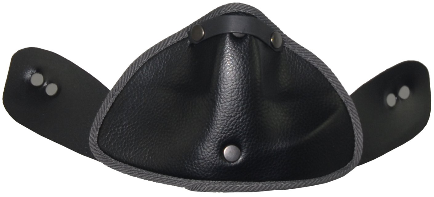 Vega Snow Breath Deflector for NBX-Pro Off-Road Helmet (Black)