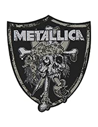 Metallica Raiders Skull Patch Black