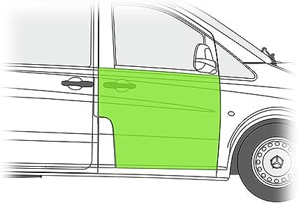 Chapa de reparación para puerta delantera derecha: Amazon.es: Coche y moto
