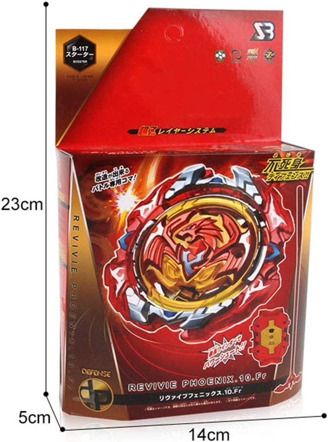 A65B86 AMA-StarUK36 Beyblade Burst Wrestling Masters Fusion Spinning Top Kreisel Gyro und Plastic Launcher Rapidity Spielzeug und Geschenke interessant f/ür Kinder