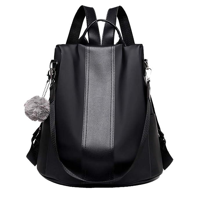 Amazon.com: Las mujeres mochila bolsa de hombro bolso ...