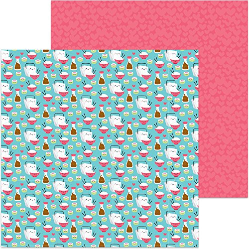 (DOODLEBUG Soy Happy So So Punny Double-Sided Cardstock 12