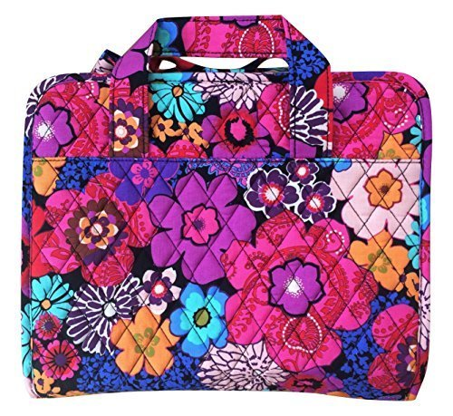 Vera Bradley Hanging Travel Organizer (Floral Fiesta with Black Interior)