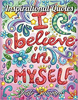 Inspirational Quotes Adult Coloring Book