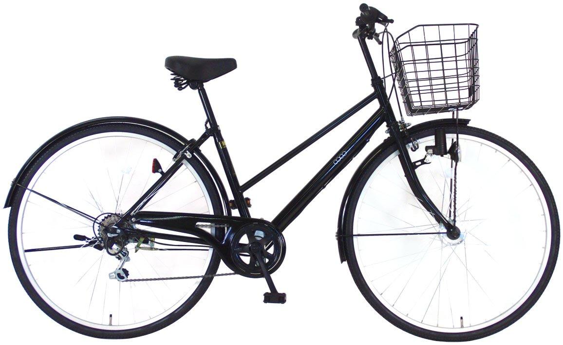 C.Dream(シードリーム) ココブラック CC76-BK 27インチ自転車 シティサイクル ブラック 6段変速 100%組立済み発送 B014WA58S2