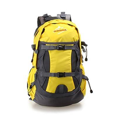 hongyan Unisex Classic Nylon Waterproof Hiking School Rucksack Travel Backpack Laptop