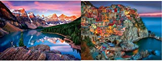 product image for Buffalo Games - Reflections - Mountains on Fire - 750 Piece Jigsaw Puzzle & Signature Collection - Cinque Terre - 1000 Piece Jigsaw Puzzle