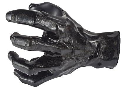 GuitarGrip LHGH106 - Colgador de pared con forma de mano para guitarra, color negro