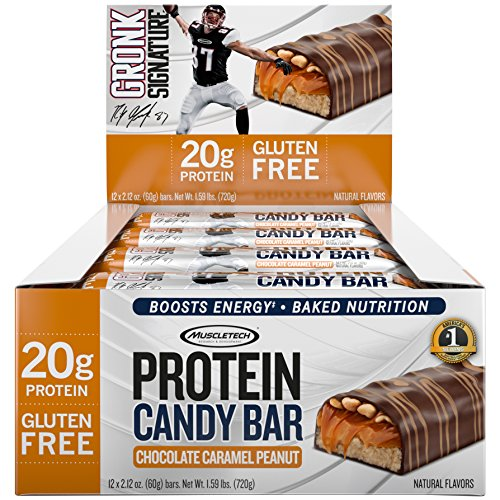 Top 3 muscletech gronk signature protein candy bar