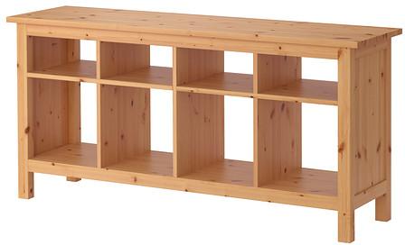 HEMNES Sofa table - light brown - IKEA