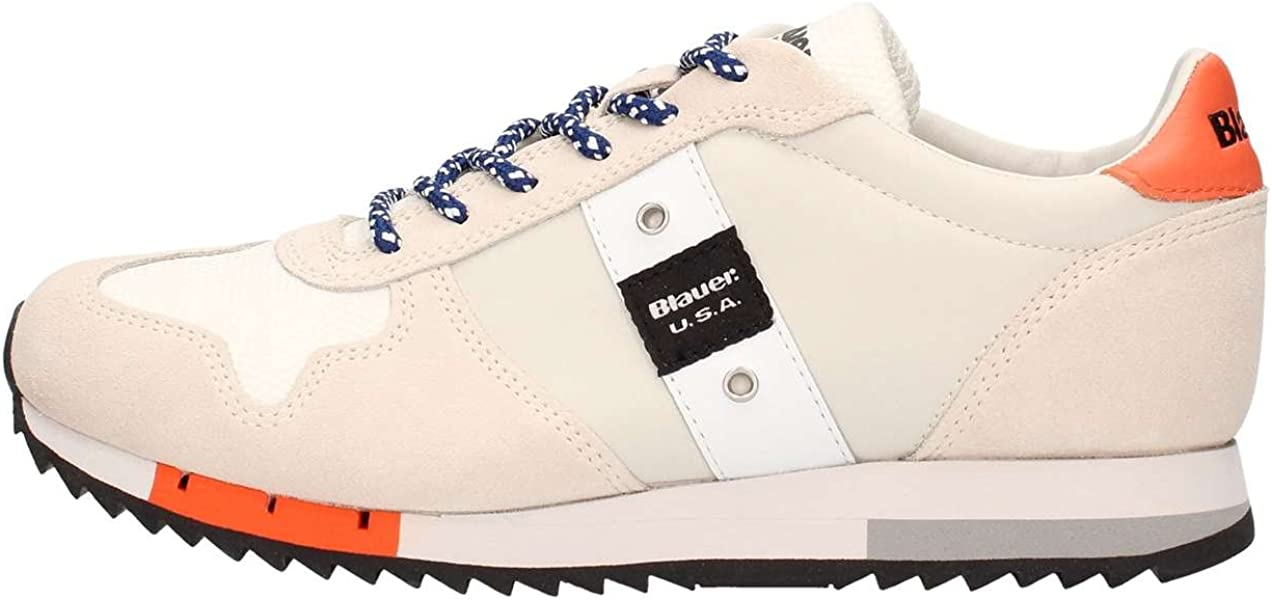 Schuhe Blauer USA Herren Sneaker 8SQUINCY01NYL Schnürer