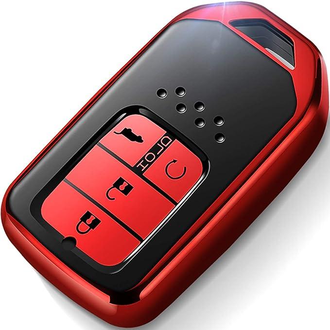 KE-KE Mecha Style TPU Key Case for Honda Accord Civic CRV Pilot Odyssey