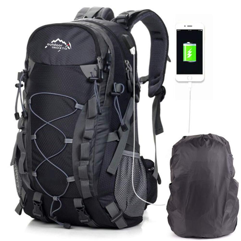 Hiking Daypacks Backpack for Men Women 40L Waterproof Travel Outdoor Camping Trekking USB