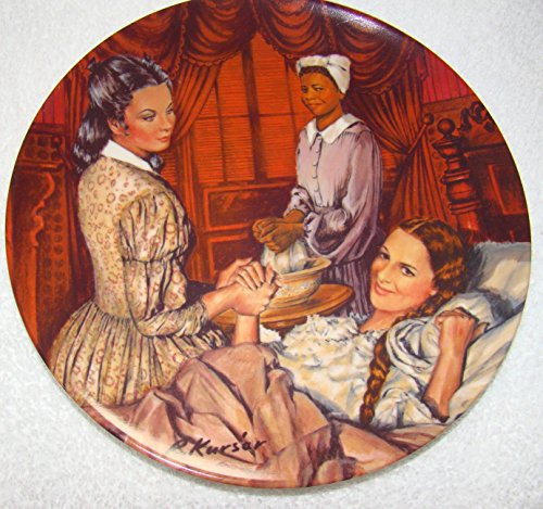 Gone with the Wind Melanie Gives Birth Plate (Gone With The Wind Collector Plates Knowles)