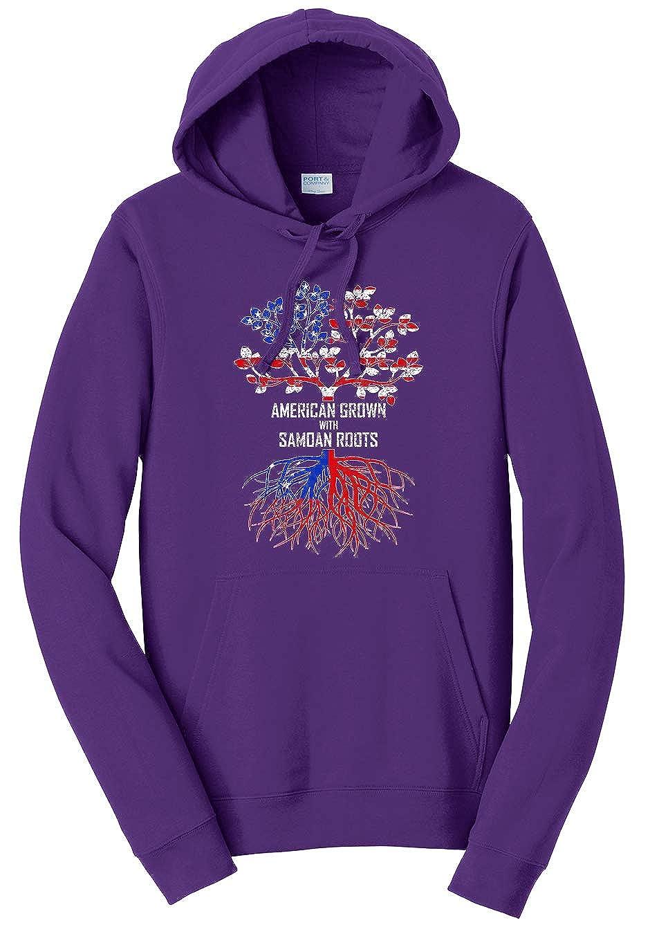 Tenacitee Unisex American Grown with Samoan Roots Sweatshirt