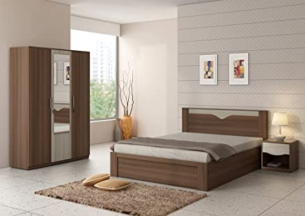 Spacewood Crescent Bedroom Set: Amazon.in: Home & Kitchen
