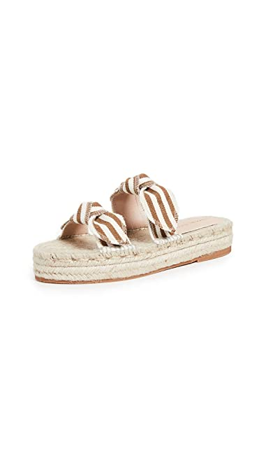 ffe06591b6f0 Loeffler Randall Women s Daisy Two Bow Platform Espadrille Sandals