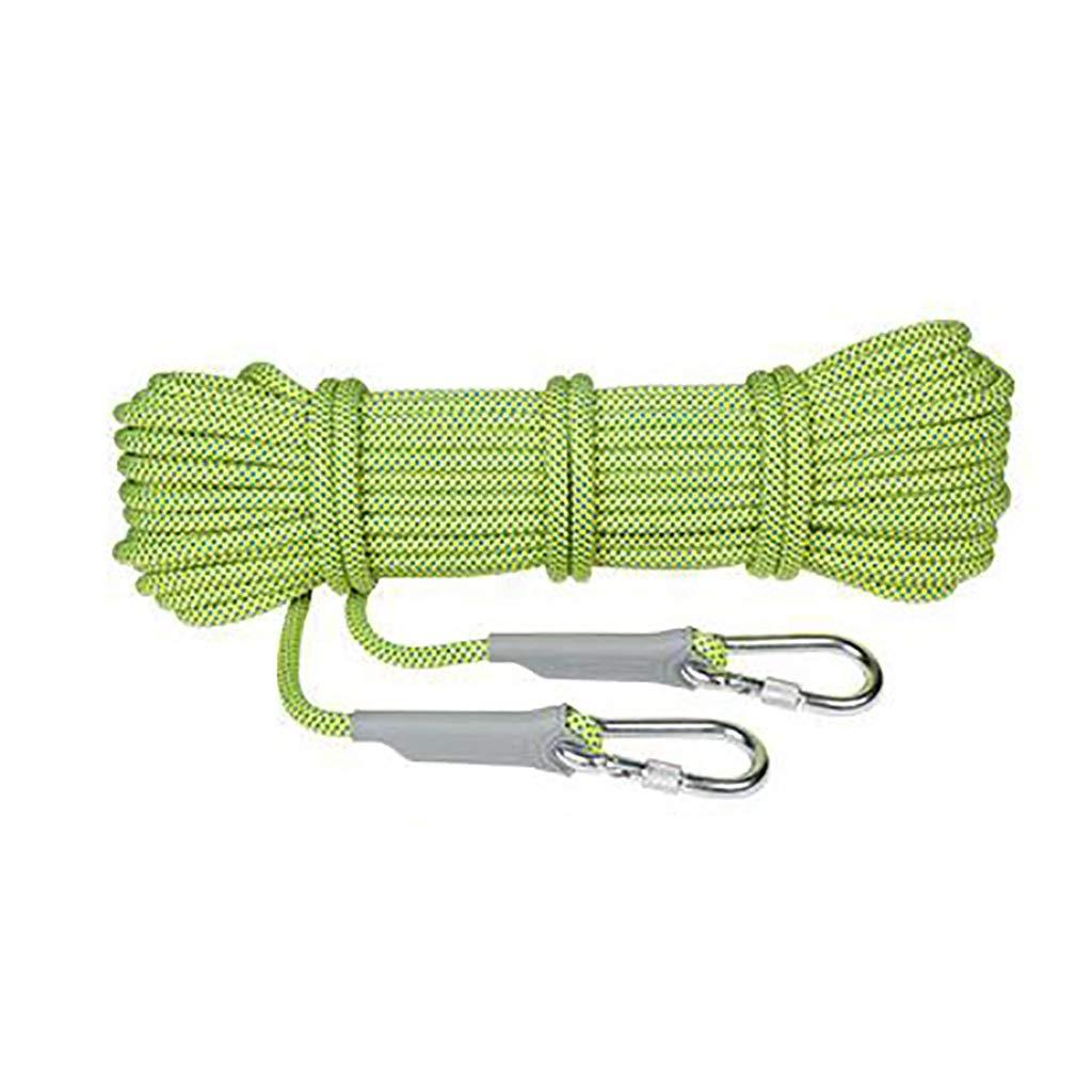 A LXYFMS Corde d'escalade adaptée au Camping Rrock Randonnée Trekking Options Multi-Tailles et Multi-Couleurs Corde d'alpinisme (Couleur   B, Taille   12mm 20m) 10.5mm 60m