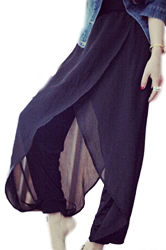 Las Mujeres De Gasa De Verano Haren Pantalones Harem
