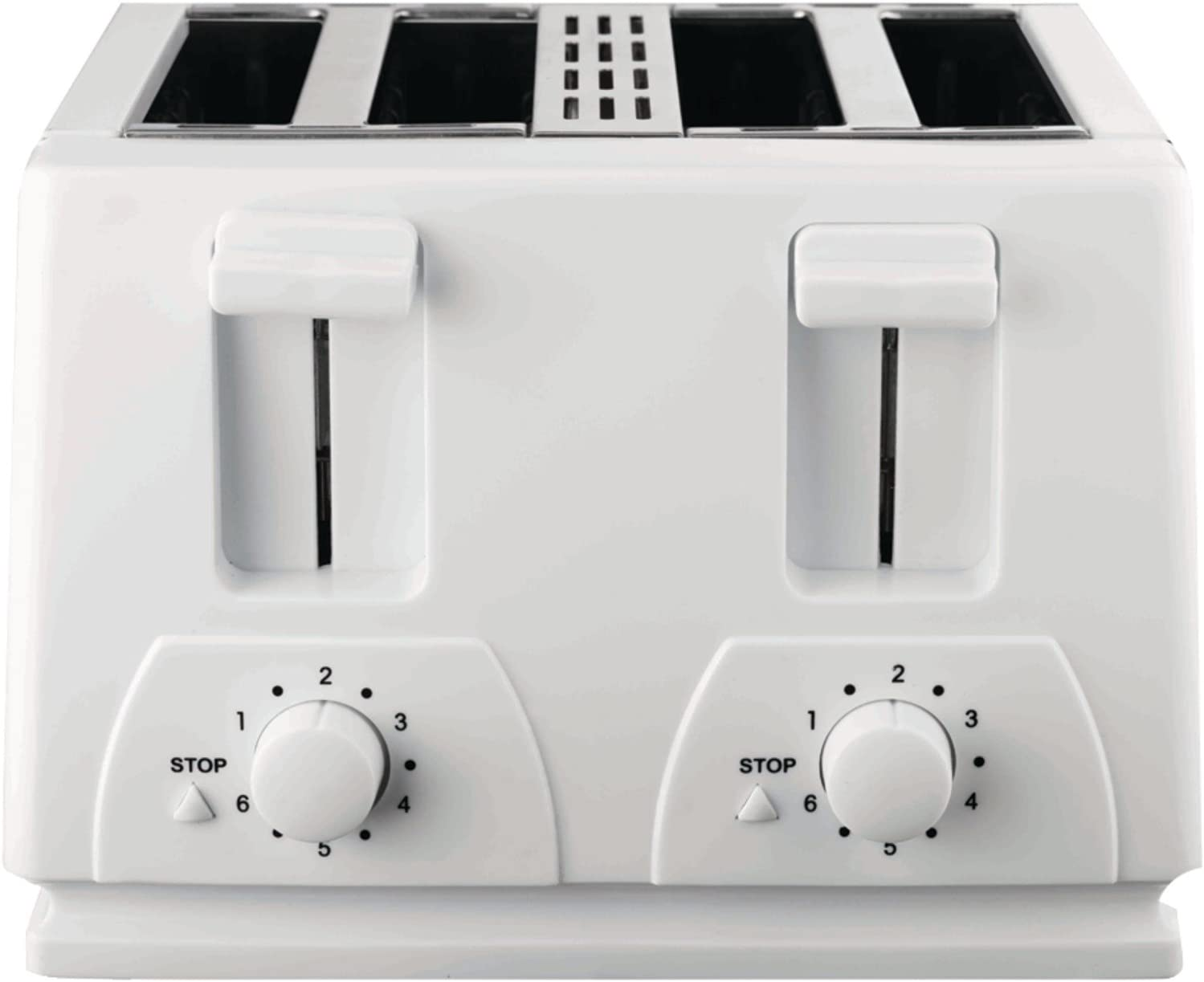 Brentwood TS-265 Toaster Cool Touch, 4-Slice, White