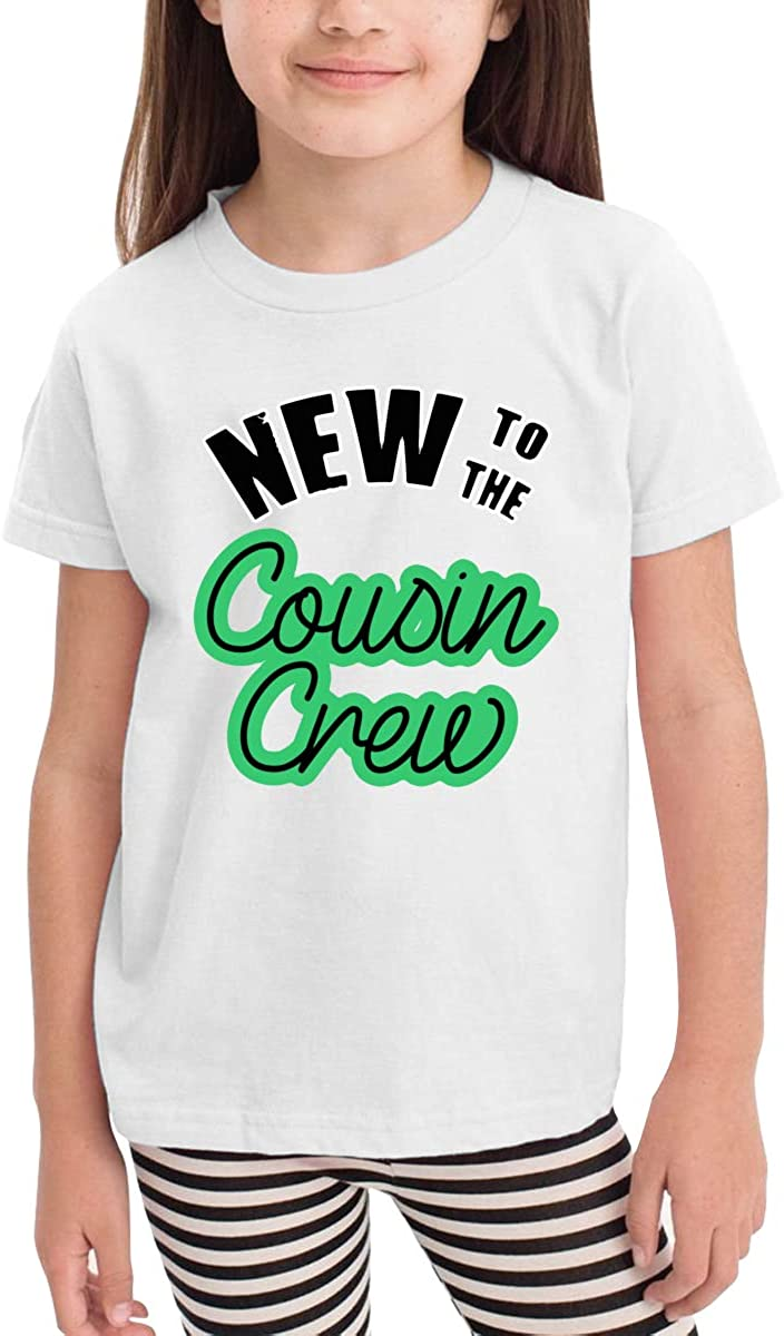 New to The Cousin Crew Toddler Kids Girls Boys Lovely T-Shirt Cotton Short Sleeve Graphic Tee 2-6 Years