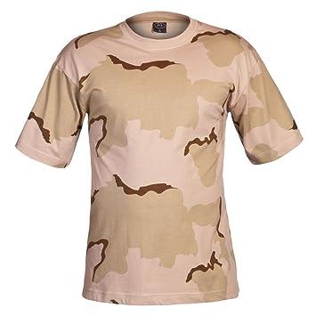 63b0bf77fd4fff MFH US T-Shirt, halbarm, 3 Farben desert, 160g/m²: Amazon.de: Sport ...