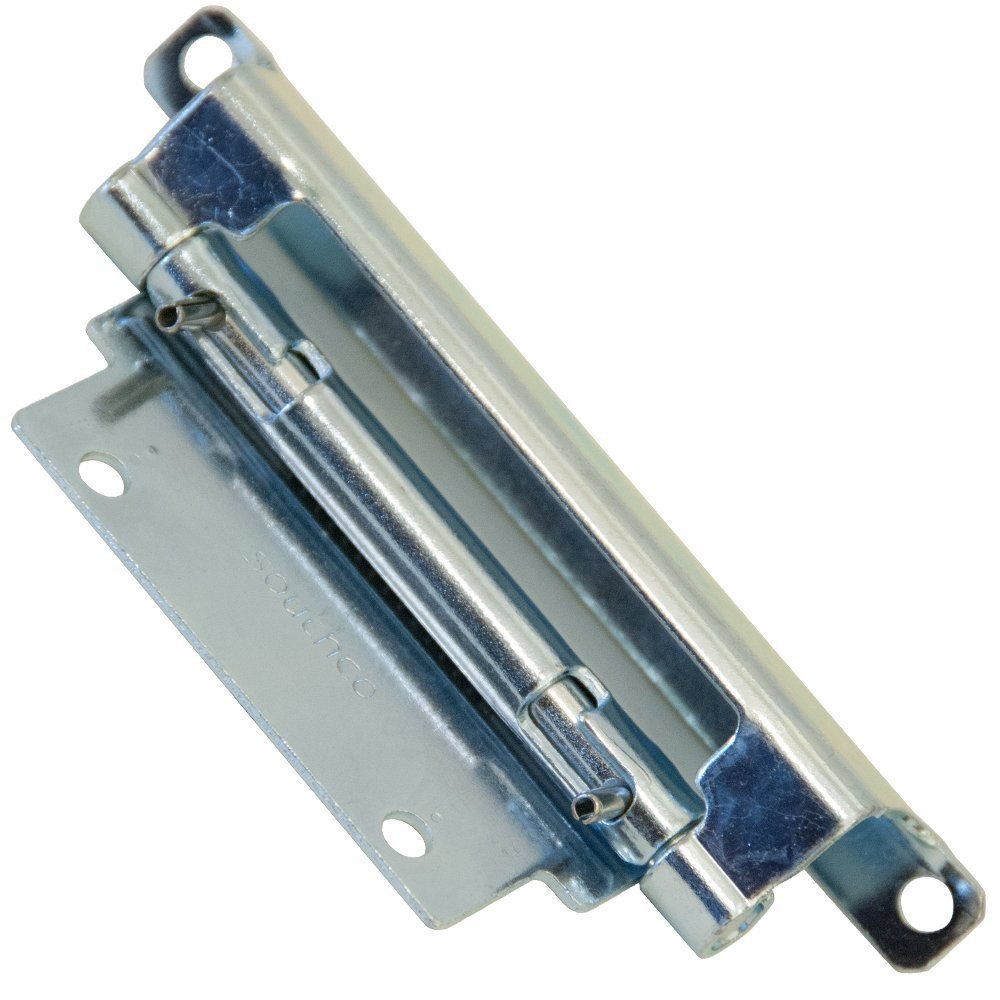 Southco F6-1 Series Steel Concealed Door Removal Hinge, 0.06'' Leaf Thick, 1.87'' Open Width, 0.19'' Pin Diameter, 3.14'' Knuckle Length, 4.96'' Long (Pack of 10)