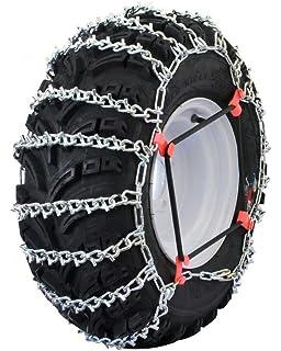 TireChain.com 26x10-12 26 10 12 ATV UTV Stud Tire Chains Spider Tightners