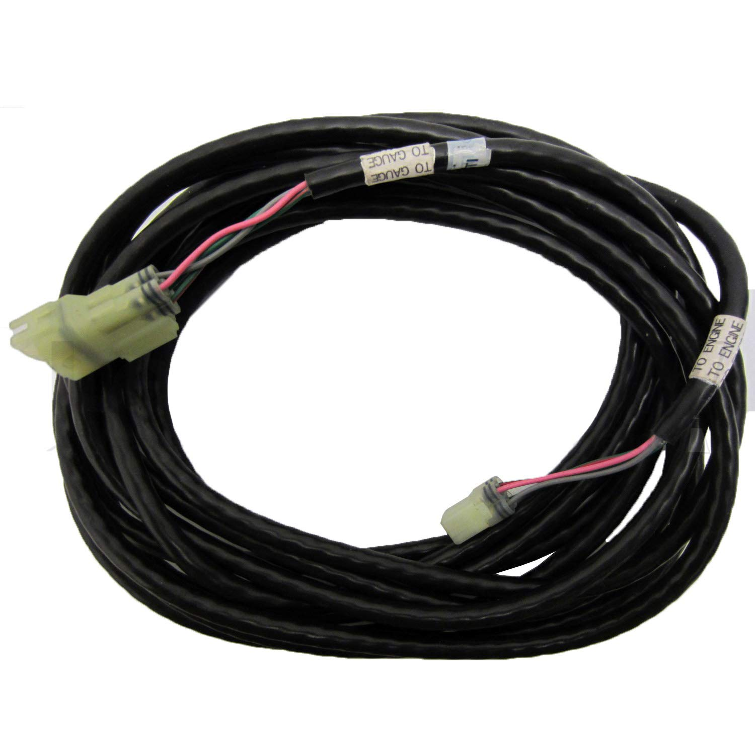 Yamaha OEM 20' Trim & Tilt / Oil Level Sender Wire Harness Cable 20ft 6Y5-83653-10-00; 6Y5836531000 by YAMAHA
