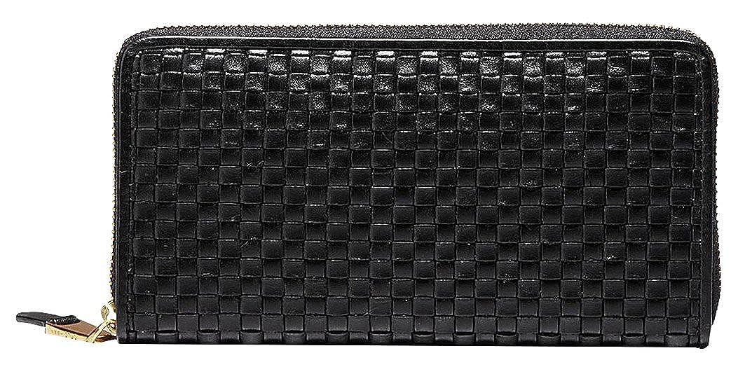 fd620386a2c Amazon.com: Cole Haan Women's Zoe Woven Continental Wallet, Black, One  Size: Shoes
