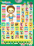 9Snail Russian Characters Sound Wall Chart Lanuage Social Occupation Job Name Body Structure Flipchart Kids , Early Learning Machines