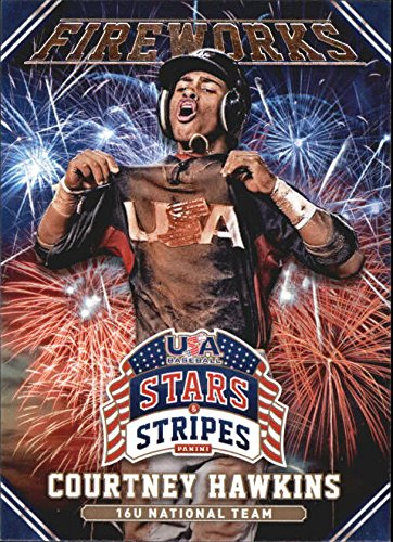 2015 USA Baseball Stars and Stripes Fireworks #5 Courtney Hawkins - NM-MT