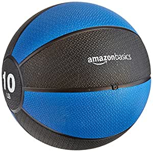 AmazonBasics Medicine Ball, 10-Pounds