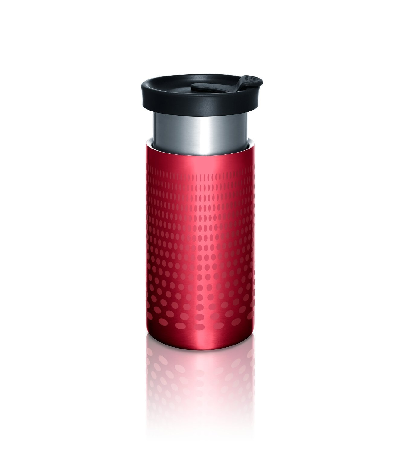 Presse by bobble, On The Go Brewer, Red