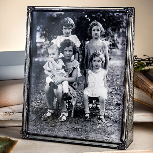 J Devlin Pic 360-81V Vintage Stained Glass Picture Frame 8x1