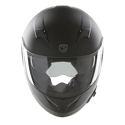 Panthera casco de moto integral Roadster negro mate talla L