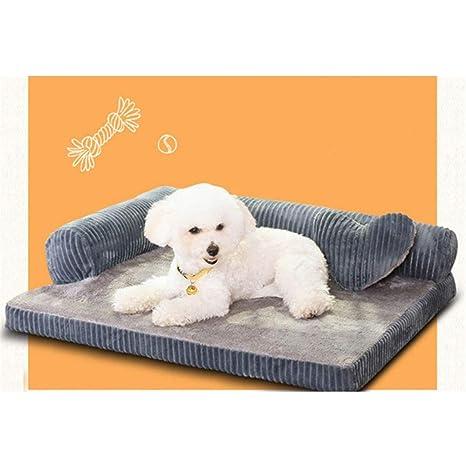 Wuwenw Cojín De Lujo para Perros Grandes, Camas para Perros, Gatos Y Mascotas,