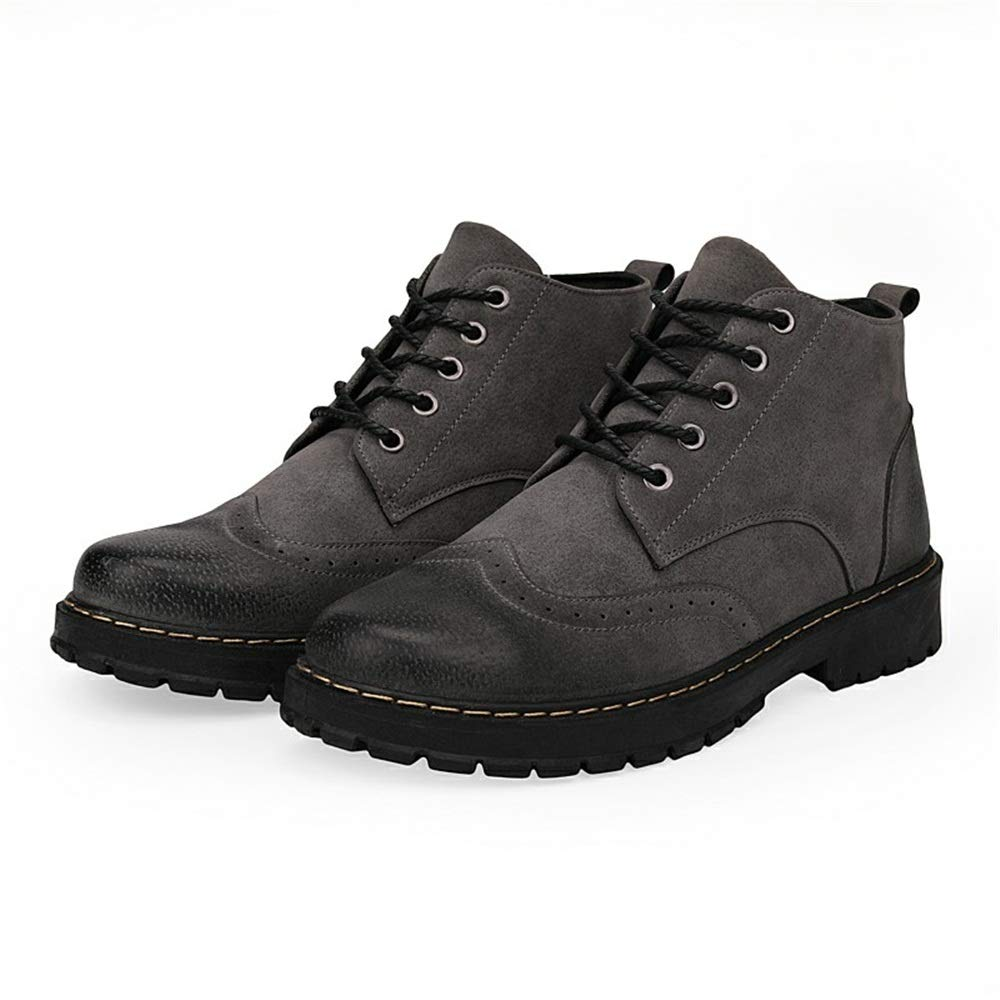 CHENJUAN Shoes Mens Fashion Ankle Boots Casual and Comfortable High Top Packed The Boots