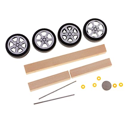Buy Assemble Magnetic Wooden Car Toy Set Car Model Kits Science