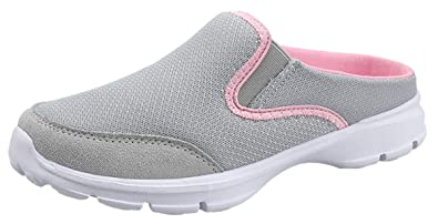 tienda de liquidación 660a4 22660 ChayChax Zapatillas de Estar por Casa para Mujer Zuecos Cómodos Suave  Pantuflas de Interior Exterior Antideslizante Ligero Planos Zapatos de Casa