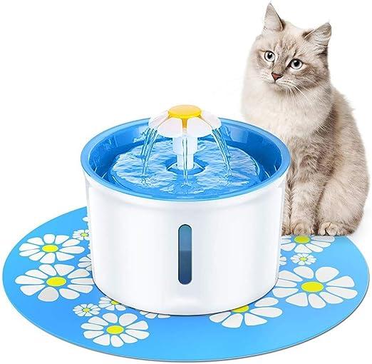 Fuente de agua for gatos Suministros for mascotas Dispensador de ...