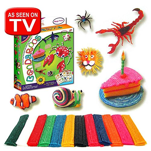 Amazon.com: Bendaroos Mega Pack 500 Pieces: Toys & Games