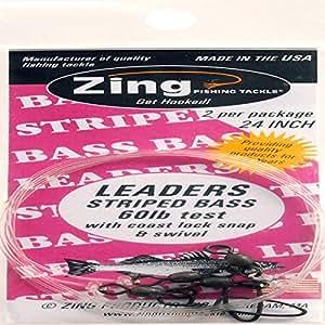 Zing striped bass 24 fishing equipment for Amazon fishing equipment