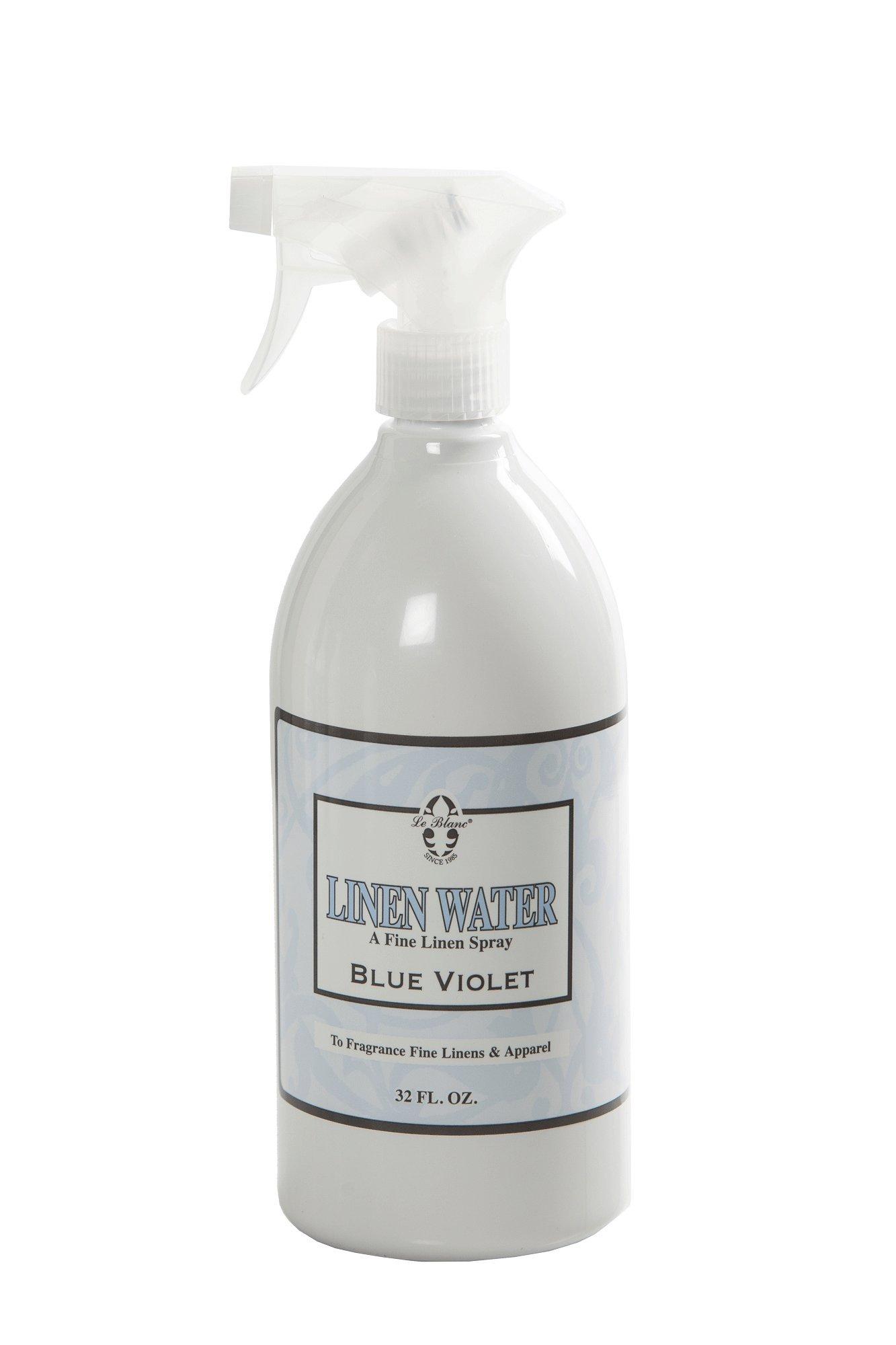 Le Blanc® Blue Violet Linen Water - 32 FL. OZ., 9 Pack by Le Blanc